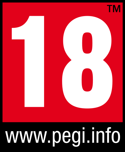 PEGI rating 18
